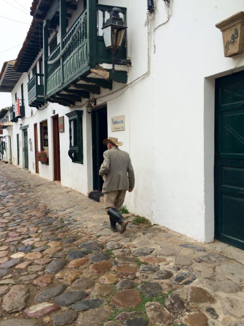 Street life Villa de Leyva