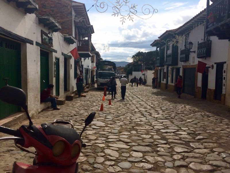 Street view Villa de Leyva