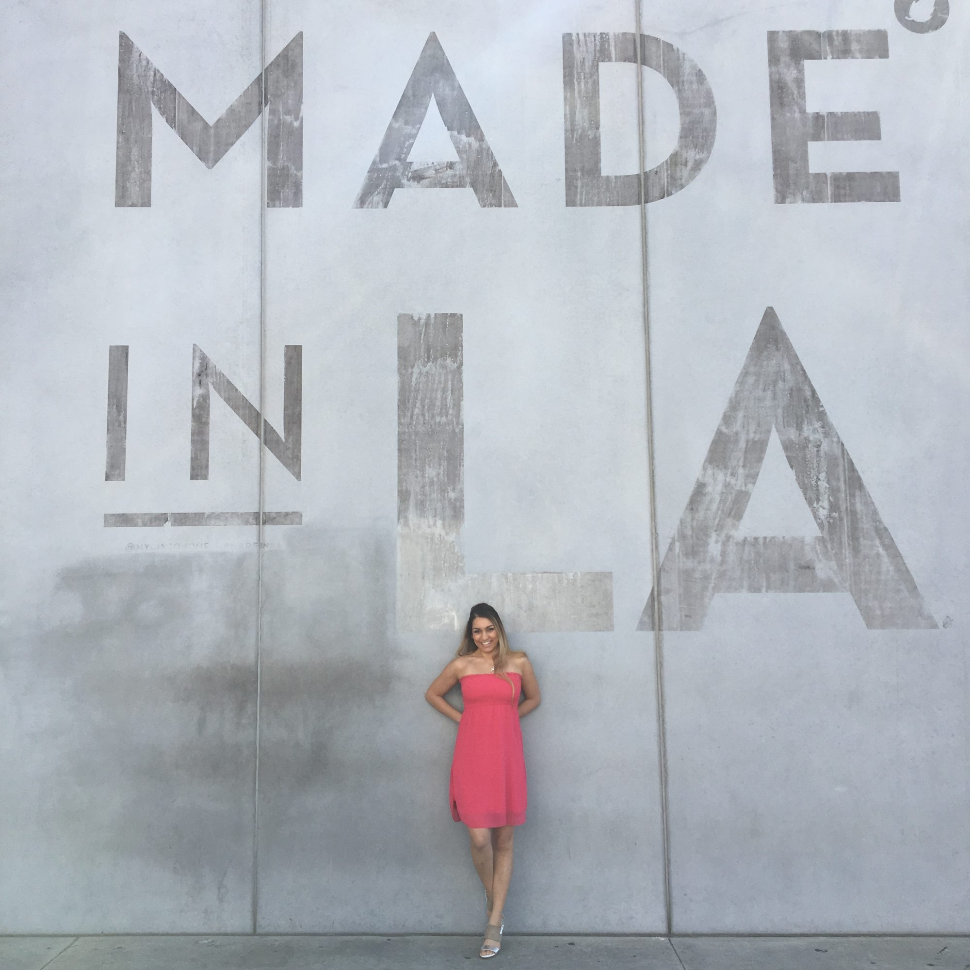 Made in L.A. wall